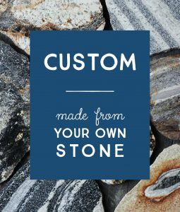 american stonecraft custom stone work made from rock made in usa eco friendly environmentally natural cool gifts wedding anniversary heirloom