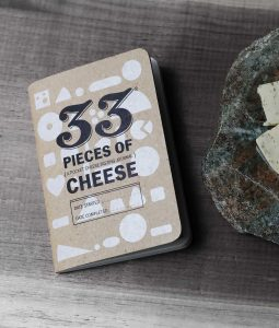 cheese journal cheese club cheese board 33 pieces of cheese track taste flavor cheese lover gifts american stonecraft
