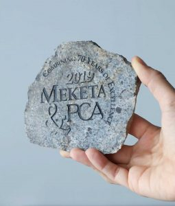 american stonecraft stone engraving handmade made in the usa rock customize artisan lowell massachusetts ma wedding gift anniversary birthday personalize engrave coaster