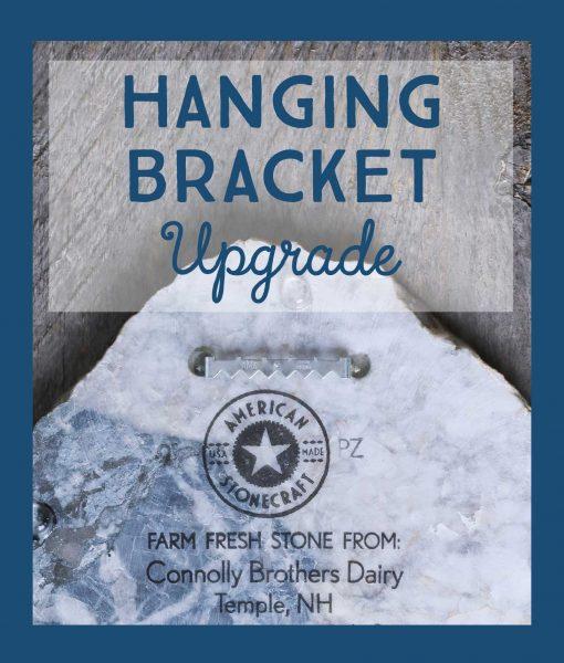 hanging bracket upgrade