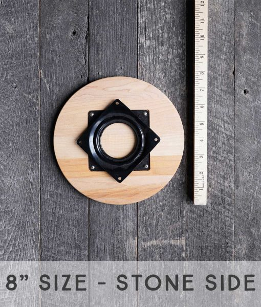 lazy susan 8 inch natural stone