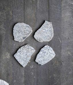 american stonecraft rock coaster fieldstone art handmade in usa new england cool guy gift