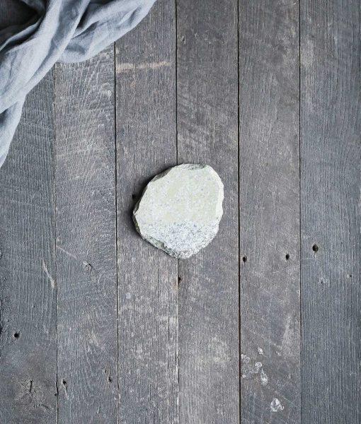 natural stone coaster absorbent rock fieldstone american made handmade stonecraft