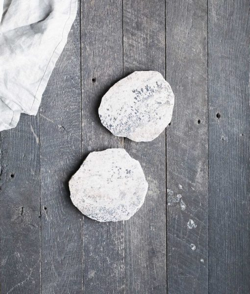 natural stone coaster absorbent rock fieldstone american made handmade stonecraft set