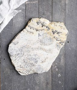 stone dish plate rock earth serving entertaining party cheese platter