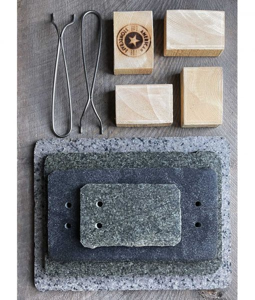 shop cooking stones cook on stone slab chef rock natural usa made american handmade cool gift